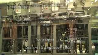 Opposed Piston Marine Oil Engine