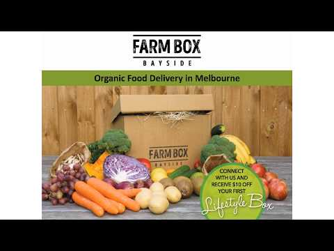 Organic Food Delivery in Melbourne