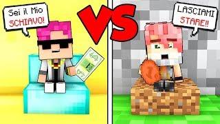 BAMBINO POVERO contro BAMBINO RICCO! - Scuola di Minecraft #24