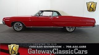 1967 Pontiac Bonneville Gateway Classic Cars Chicago #1233