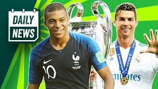 TRANSFERS and WORLD CUP NEWS: Ronaldo to join Juventus, Mbappé to Madrid + Higuaín to Chelsea