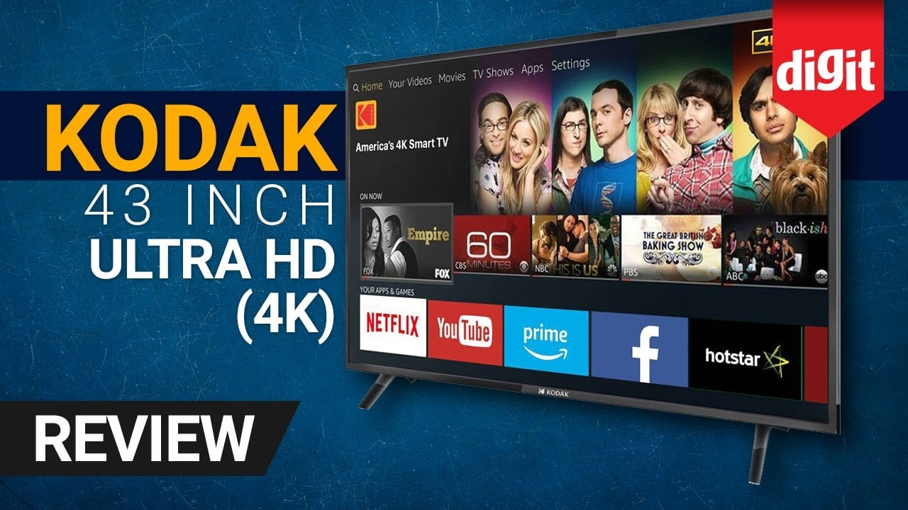 Kodak 43-inch Ultra HD 4K TV | Rs 23,999 | Review | Digit in - YouTube