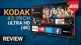 Kodak 43-inch Ultra HD 4K TV | Rs 23,999 | Review | Digit.in