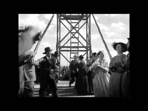 Escena de Pasión de los fuertes (My Darling Clementine). John Ford.1946.