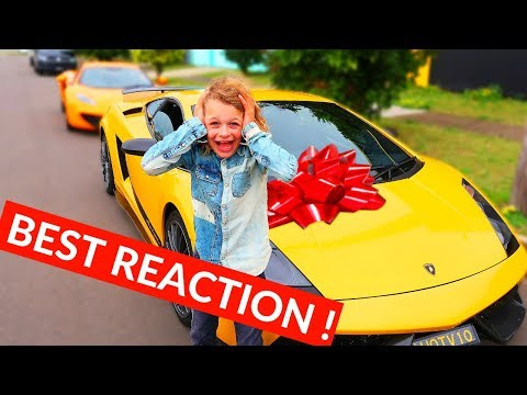 HE GETS 2 SURPRISES  THIS IS ONE OF THEM *mind blowing reveal* NORRIS NUTS SURPRISE part 3 of 4