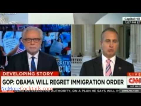"GOP Rep Mario Diaz-Balart: Obama ""is outright lying"" on immigration just like he did on Obamacare"