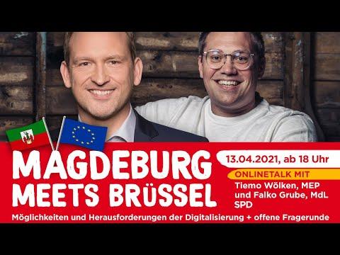 Magdeburg meets Brüssel: Möglichkeiten und Herausforderungen der Digitalisierung