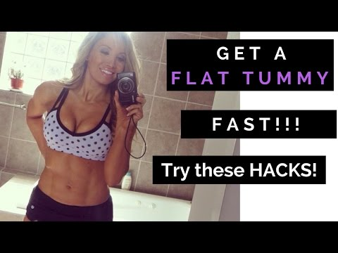 Easiest Flat Tummy Hacks you'll ever try (and they work!)