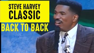 Steve Harvey Comedy Classics | Back to Back 😁😂🤣