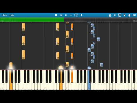 Genesis - Firth of Fifth Piano Tutorial - Complete Song Synthesia