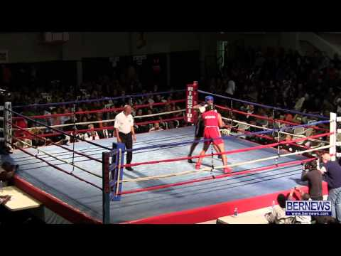 Reyel Bowen vs Justin Tucker At Fight Night 15, Feb 2 2013