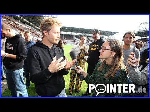 Viva con Agua - Elektro-Kartrennen mit Nico Rosberg und Bosse