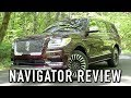 2018 Lincoln Navigator Black Label: Start Up, Test Drive & In Depth Review