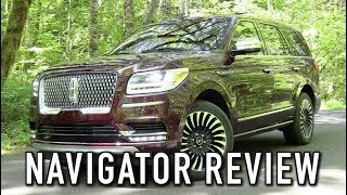 2018 Lincoln Navigator Black Label: Start Up, Test Drive & In Depth Review