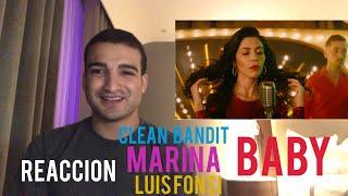 Clean Bandit - Baby feat. Marina & Luis Fonsi (Reaccion) Video