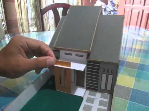 Tutorial Membuat Miniatur Rumah Minimalis  YouTube