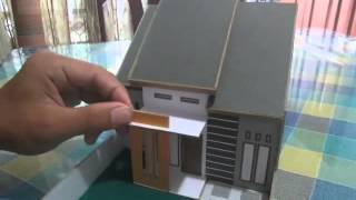 Tutorial Membuat Miniatur Rumah Minimalis