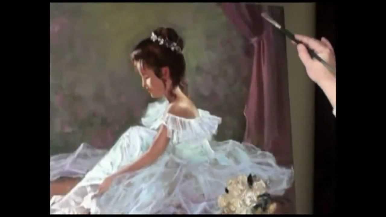 Video tutorial Igor Saharov_ Disegna un piccolo ballerina