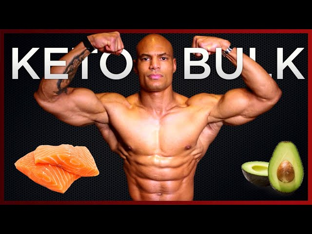 How I gained 15 lbs in 5 WEEKS [Gain Muscle on KETO]