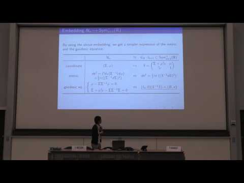 Group Theoretical Study On Geodesics For The Elliptical Models Hiroto Inoue