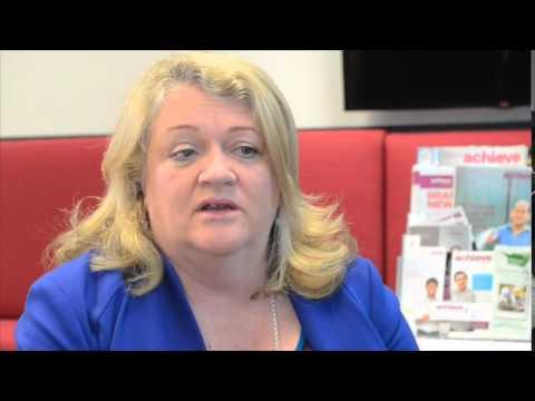 Achieve Video   Anne Bryce talks about AHI Innovation Award