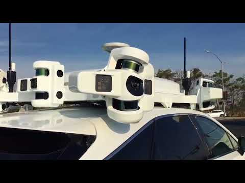 Apple's Project Titan Self Driving Test Car Makes an Appearance in California