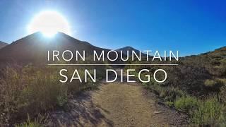 Hiking Iron Mountain, San Diego