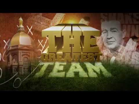 The Greatest Team - Notre Dame (Trailer)