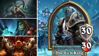 Hearthstone: Defeating The Lich King - Rogue, Shaman and Warrior