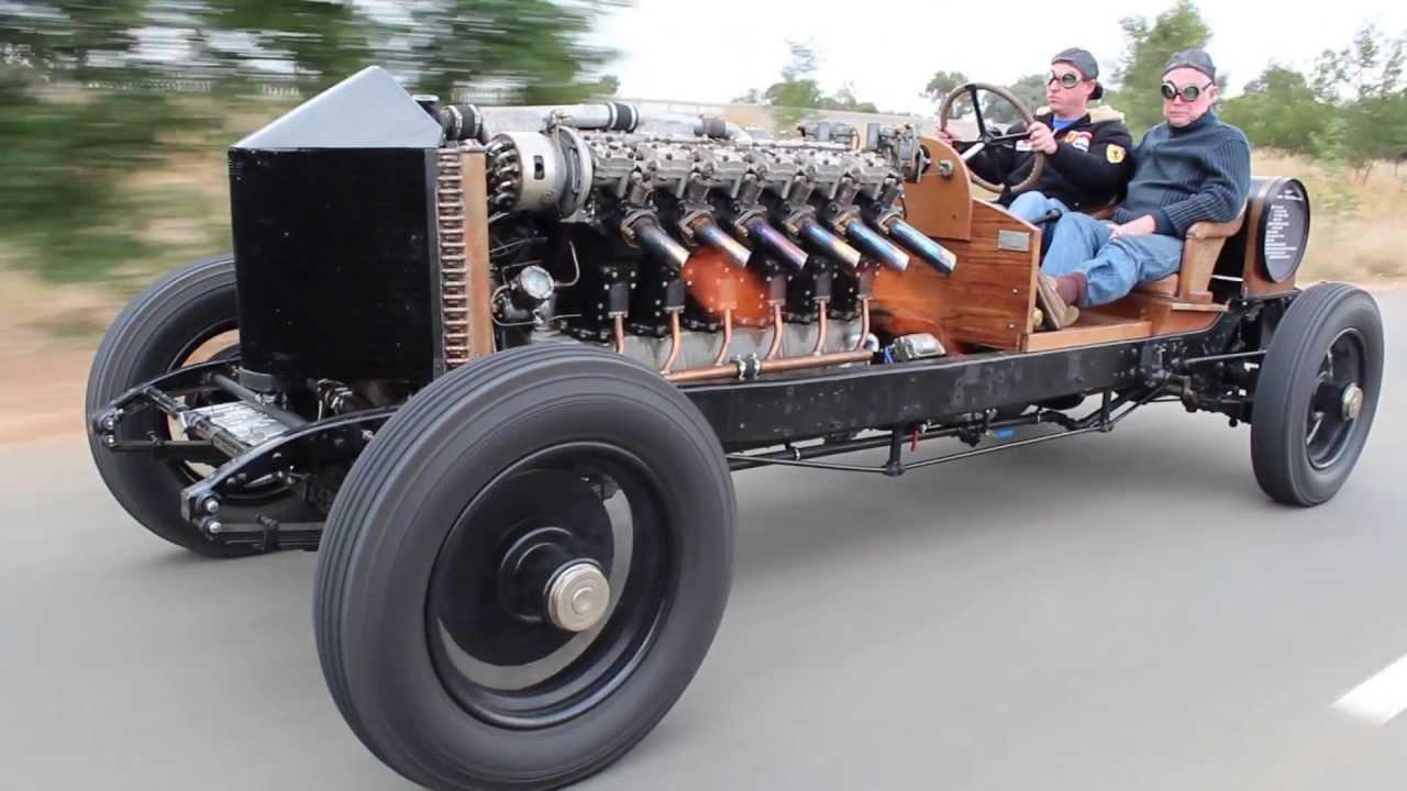 Vintage Air Powered Race Cars