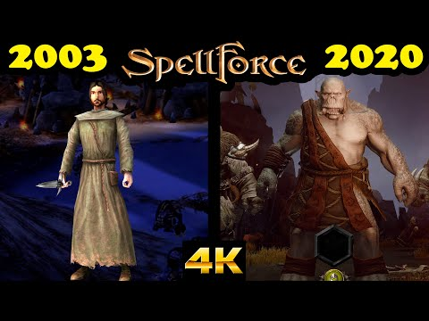 Evolution of SpellForce games (2003-2020) only stand-alone games |