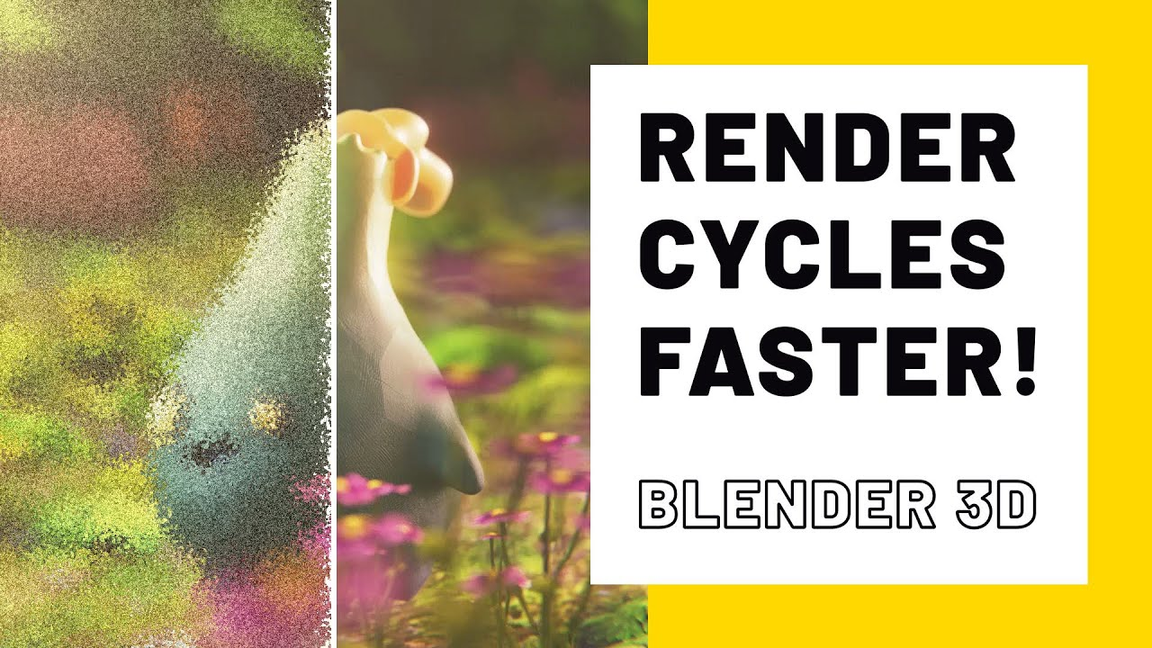 Render Cycles FASTER with Blender 2.83