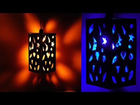 NIGHTLAMP || Paper Craft ideas !!! DIY ROOM DECOR IDEA