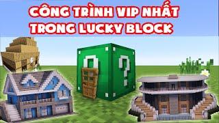 Thử Thách Noob Tìm Công Trình Vip Nhất Trong Lucky Block