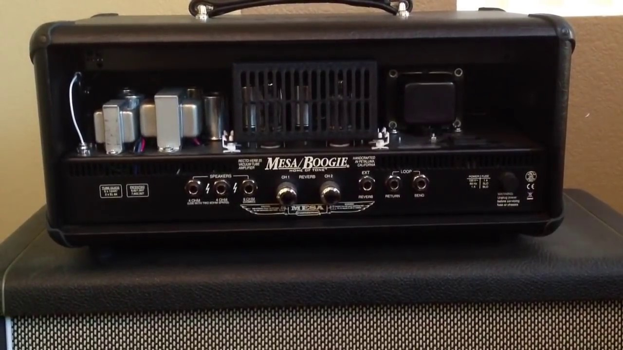 review mesa boogie rectoverb 25 youtube. Black Bedroom Furniture Sets. Home Design Ideas