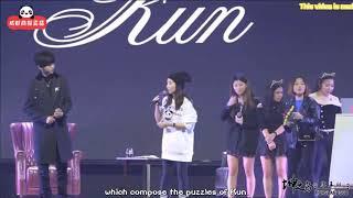 【Eng Sub 蔡徐坤/CAI XUKUN】Part 5 Chengdu Live 成都音乐分享会 20181013