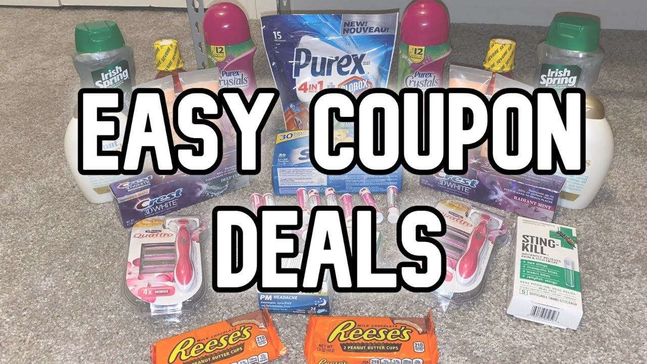 24 CENT LAUNDRY DETERGENT?! | Easy Coupon Deals | Walgreens and CVS