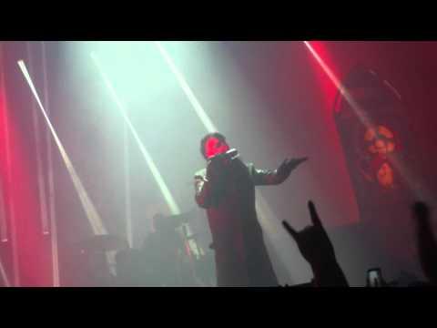 Marilyn Manson intro 11-1-15 in Shreveport, LA