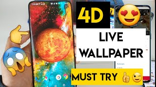 4D live wallpaper in any android phone screenshot 4