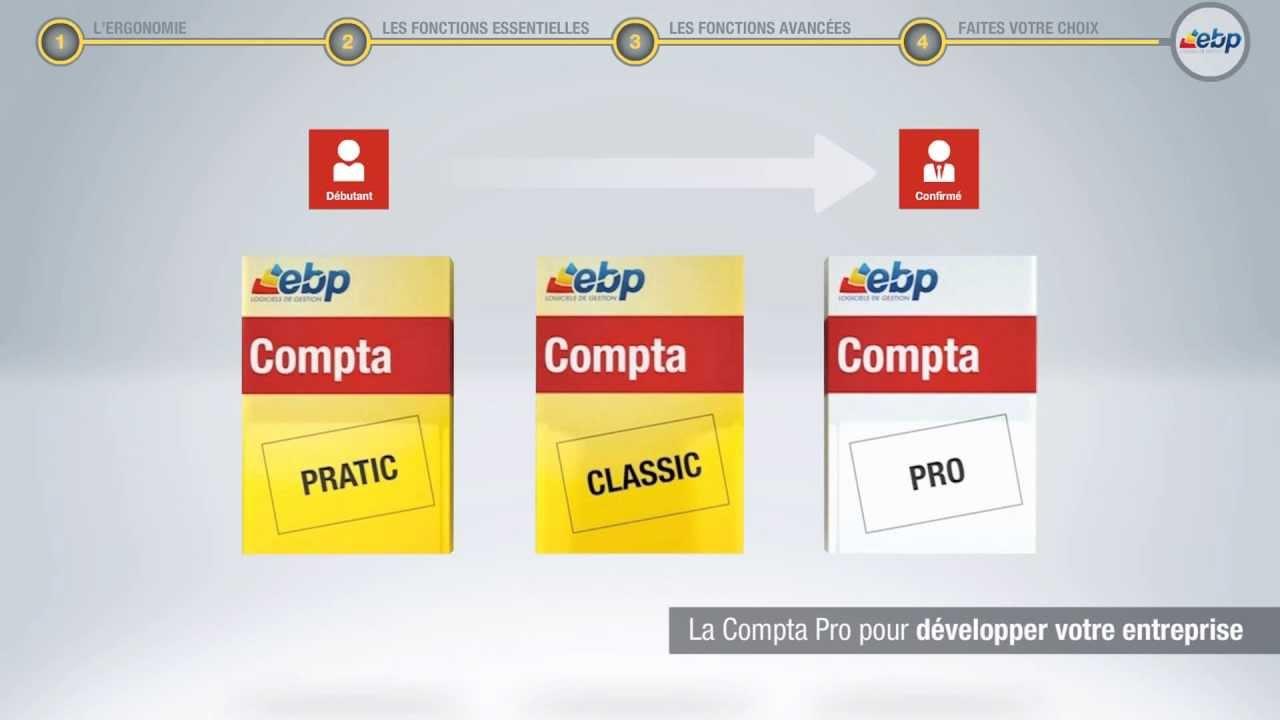 Les Services Profession Comptable EBP   EBP   Vidéo
