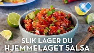 Slik lager du Hjemmelaget salsa
