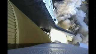 Booster Cam - Spectacular on board Space Shuttle Launch with Sound (STS 133)
