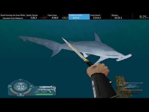 [WR] Shark! Hunting The Great White - Extended V1.7 Mod Any% (Medium) Speedrun  - 21:15