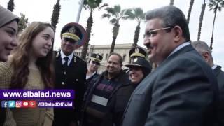 مدير أمن الجيزة يتفقد محيط جامعة القاهرة.. فيديو