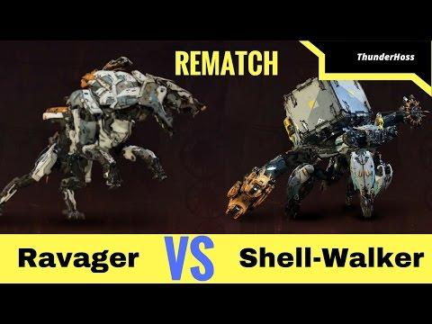 Horizon Zero Dawn - Ravager VS Shell-Walker - REMATCH (Horizon Fight Club #24)