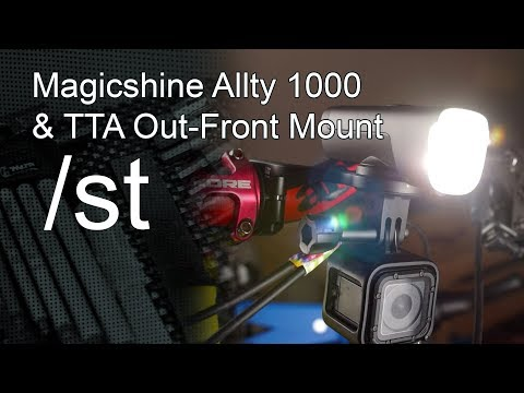 Magicshine Allty 1000 Bike Light & TTA Out-Front Mount Review