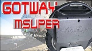 Gotway MSuper, 3000 Watt POWER, 18 Zoll und 34km/h Off-Road *Tutorial* Deutsch