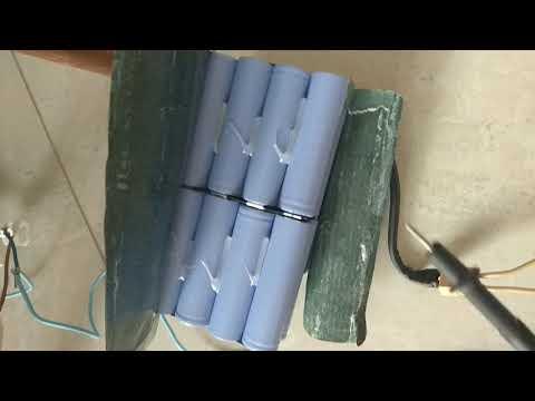 Ремонт аккумулятора от гироскутора