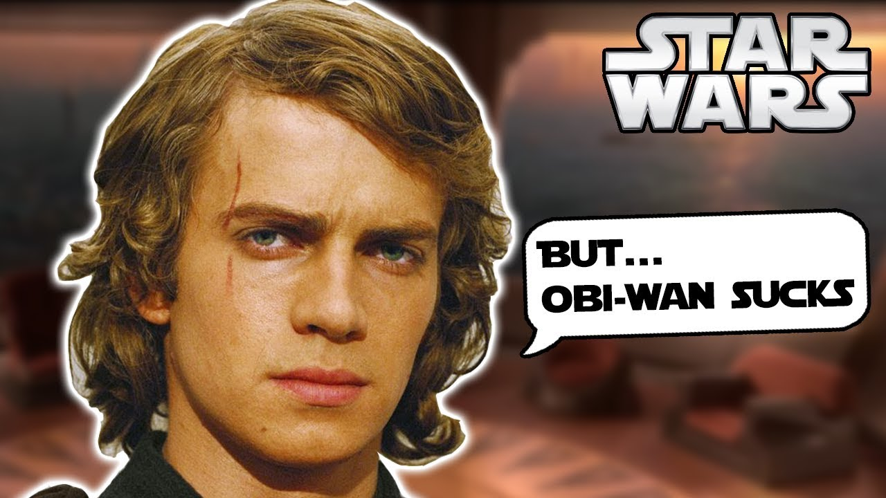 What Anakin Said In The Original Script About Obi Wan To The Jedi Council Star Wars Explained Youtube
