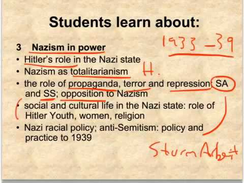 LENI RIEFENSTAHL HSC ESSAYS  HSC Modern History Personality Study  Albert  Speer Site by Oscar